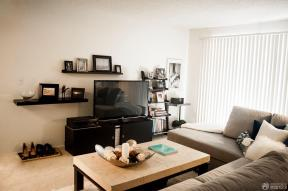 40平米一室一厅小户型电视柜效果图