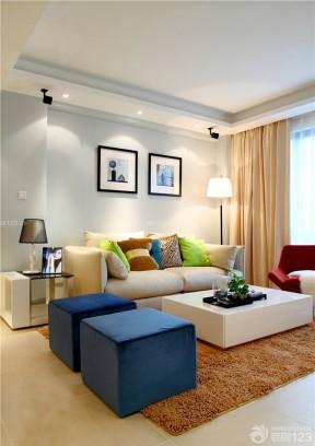 一室改两室组合沙发装修设计案例