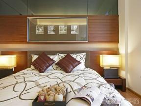 中式家居卧室装修效果图
