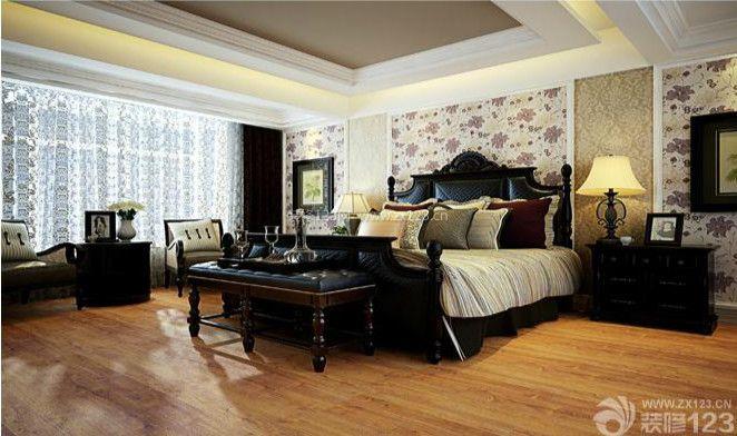 跃层式住宅卧室装修效果图