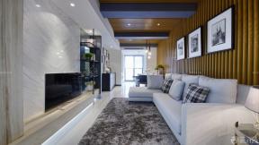80平米小户型三房一厅装修设计实景图
