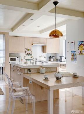 2014最新家装样板房家庭厨房设计图
