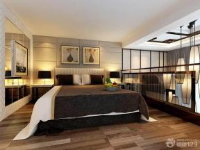现代中式风格小复式楼卧室装修效果图