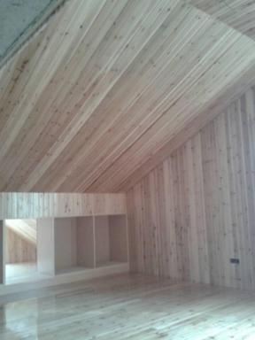 别墅木质墙面装修设计图