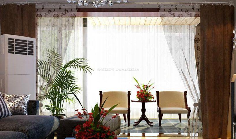 欧式家装设计卧室四柱床装修效果图