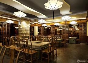 餐厅大厅吊灯图片欣赏