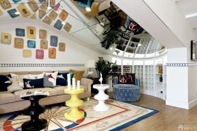地中海风格家庭休闲区布置