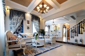 地中海风格时尚客厅图片
