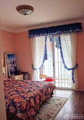 地中海风格设计主卧室装修效果图