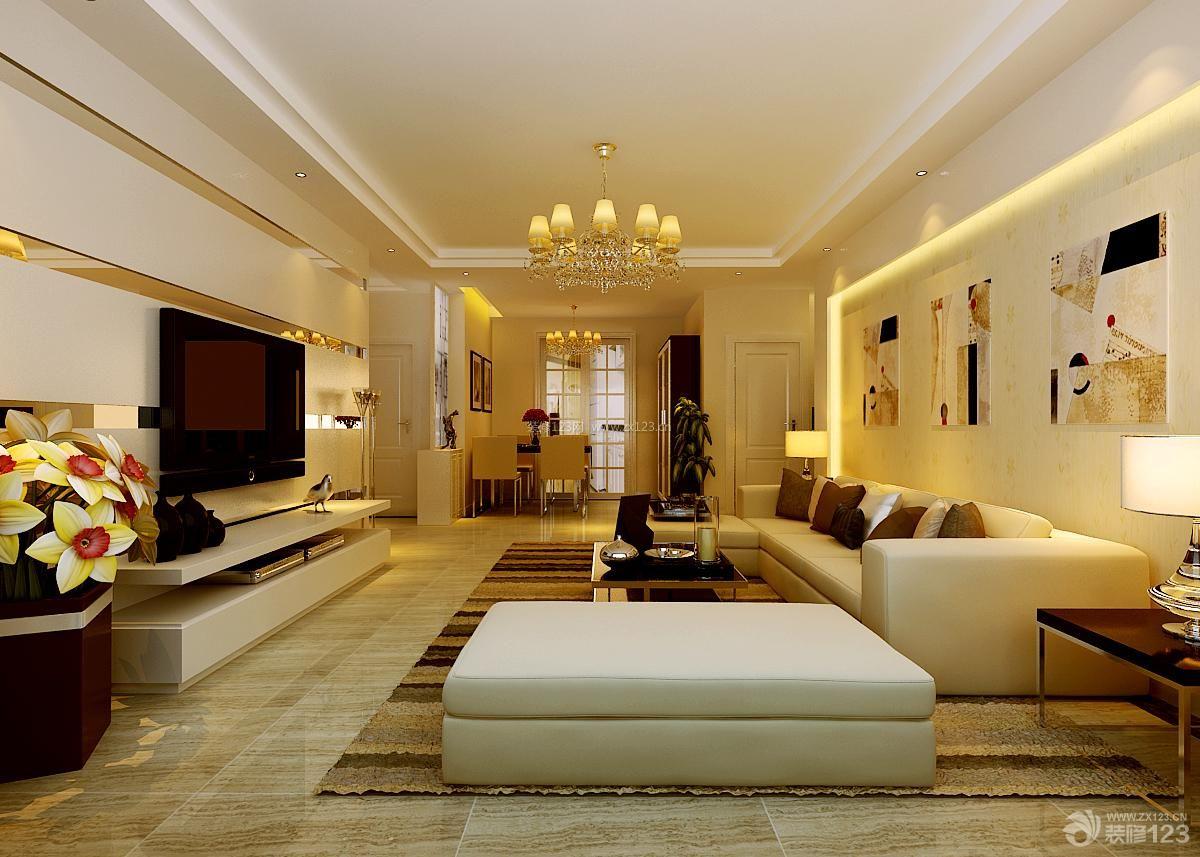 现代简约客厅装修设计装修效果图欣赏