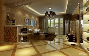 欧式风格家装客厅设计装饰效果图
