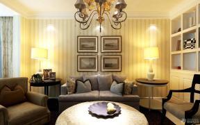 现代欧式风格客厅设计效果图