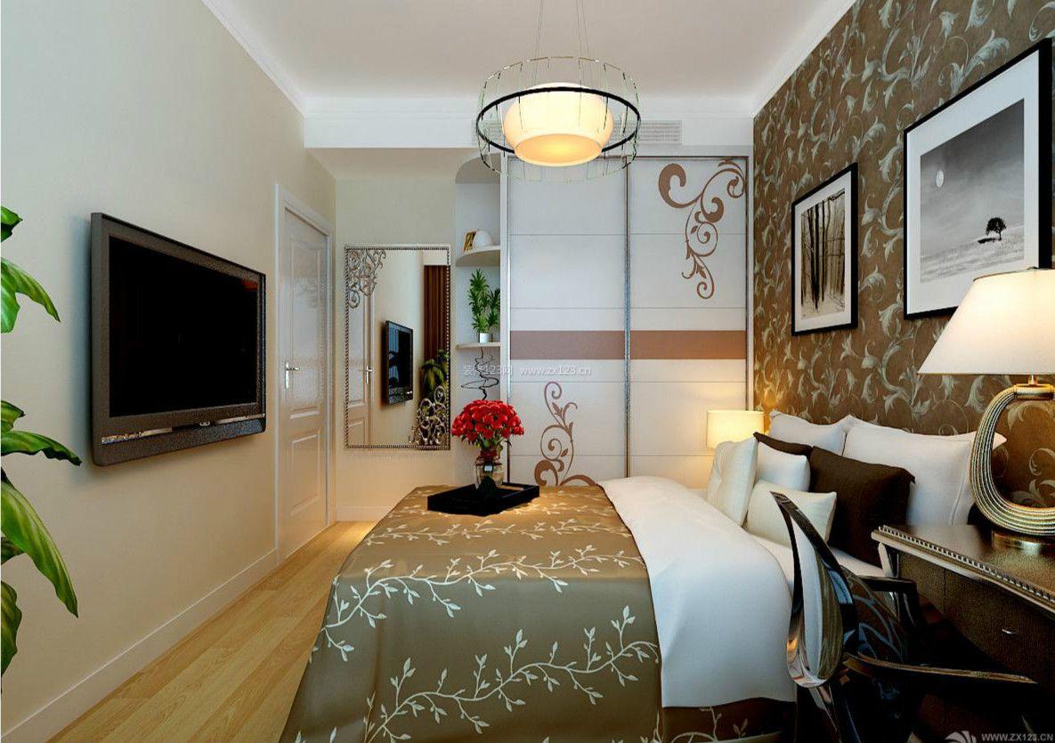 现代欧式主卧室设效果图