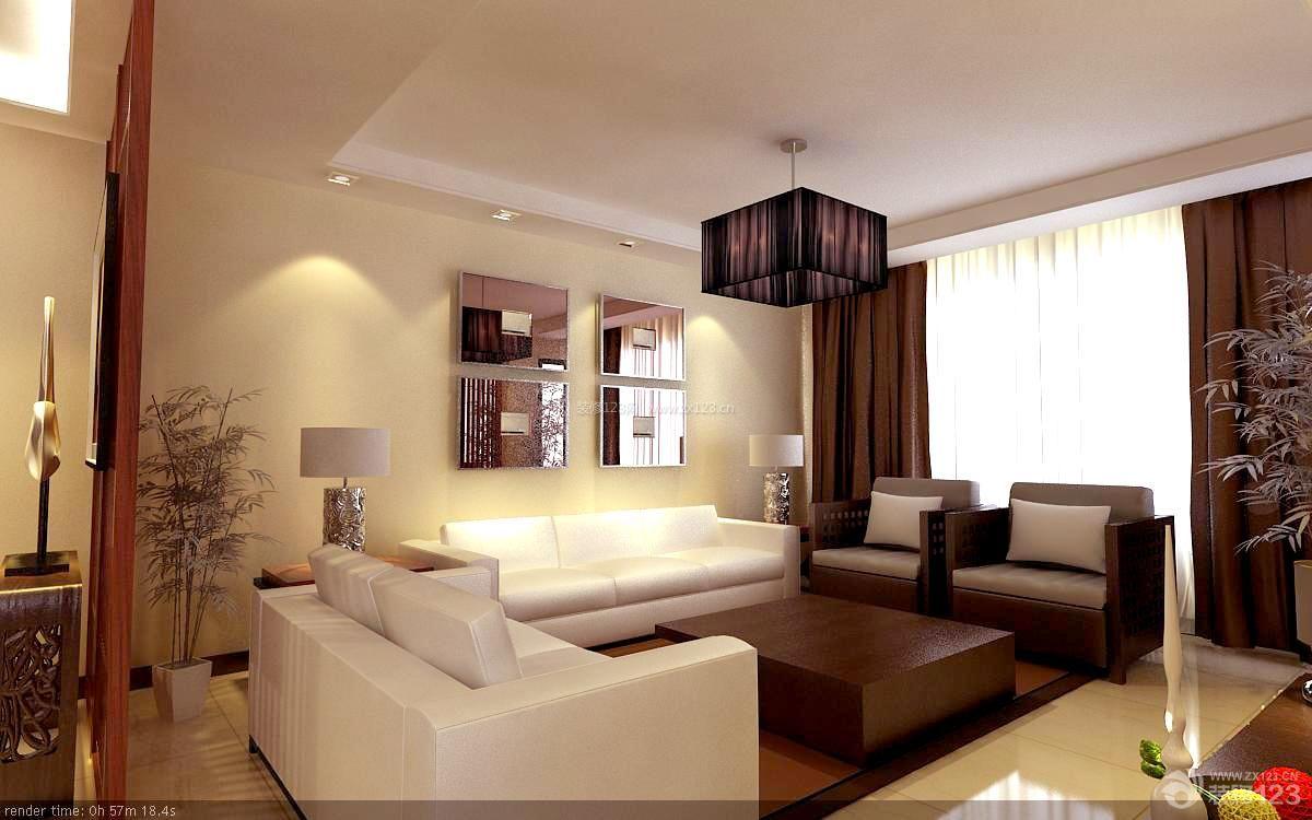 新中式风格客厅装修效果图欣赏