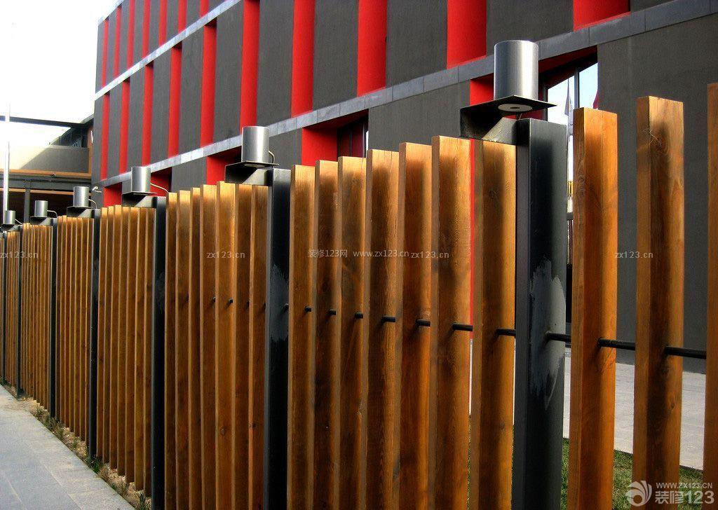 木质围栏装修图片欣赏