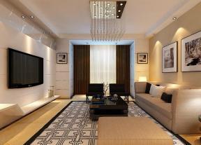 简约式家居客厅设计图