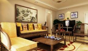 新中式客厅装修设计图片