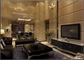 时尚简约别墅客厅装修设计图片