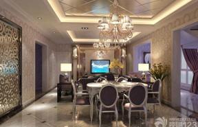 新古典别墅餐厅设计图