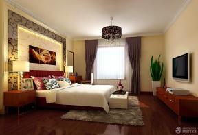 新中式卧室设计实景图