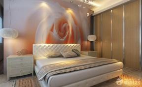 最新简约风格女生卧室装修效果图