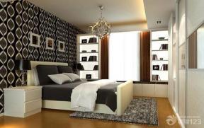 现代简约95平米卧室设计装修效果图