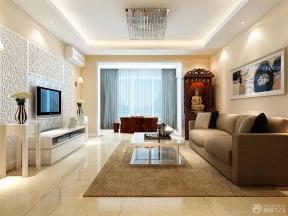 现代简约客厅装修设计图片欣赏