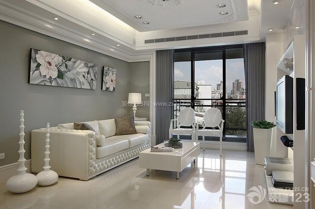 现代简约客厅样板房
