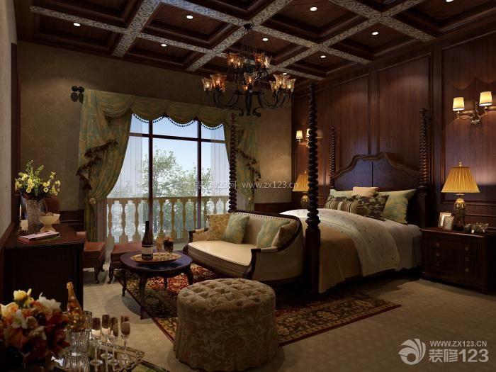 新中式最新客厅电视背景墙效果图