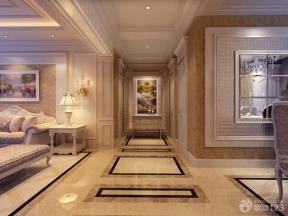 欧式风格玄关设计装饰效果图