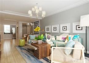 90平两室一厅家居客厅装修图片