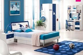 家庭男生卧室装修效果图大全2013图片
