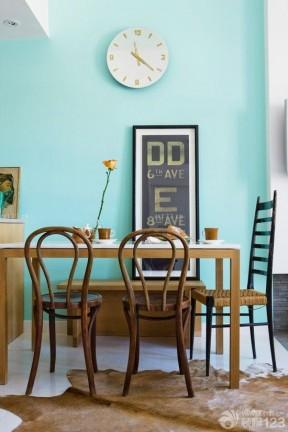 简约美式风格家庭餐厅装修效果图