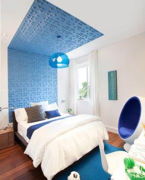 简约时尚卧室设计装修效果图