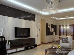 现代简约大客厅装修效果图欣赏