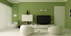 现代简约客厅电视背景墙装修设计图