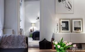 北欧风格客厅装饰柜装修图片