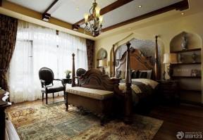 地中海家装卧室设计效果图片