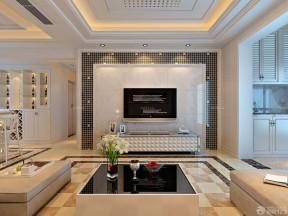 家庭室内大理石墙面装修样板房