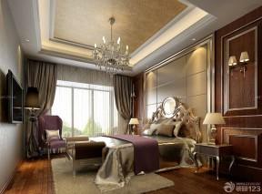 欧式新古典风格卧室设计效果图片