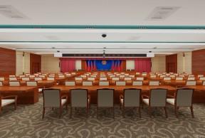 大会议室桌椅摆放图片