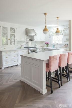 90平方三室一厅开放式厨房设计效果图