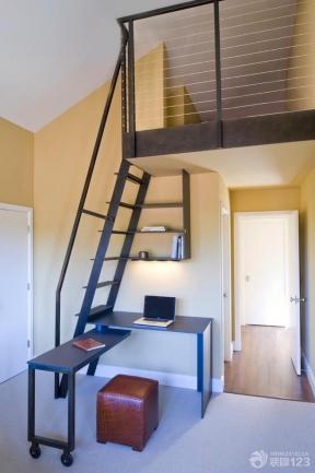 简约室内设计小户型房屋挑高客厅装修图片