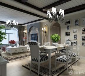 地中海风格小户型家装餐厅效果图欣赏