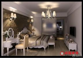 简约欧式风格20平米卧室装修设计图