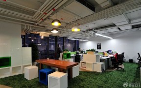 办公空间地垫设计图片