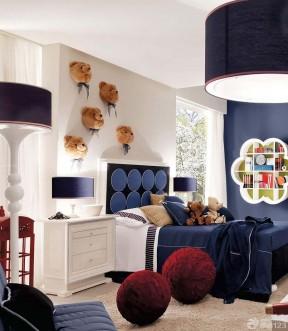 现代三室两厅90平儿童室内装修效果图