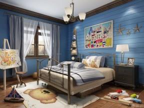80平方房屋儿童房墙面颜色搭配装修样板房