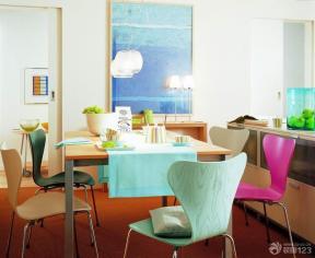 现代简约风格餐厅装饰效果图