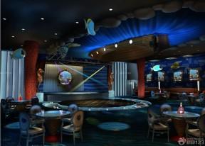 ktv大厅颜色搭配实景图